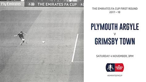 plymouth tickets plymouth fa cup tickets on sale until 3pm news grimsby