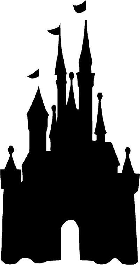 Disney World Castle Outline by Cinderella Castle Silhouette Clip Car Interior Design
