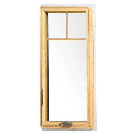 Andersen 400 Series Awning Windows by Andersen 24 125 In X 48 In 400 Series Casement Wood Window White 9117172 On Popscreen