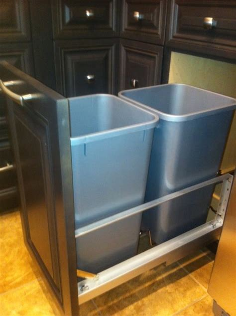 gem cabinets showroom trash cans other metro by