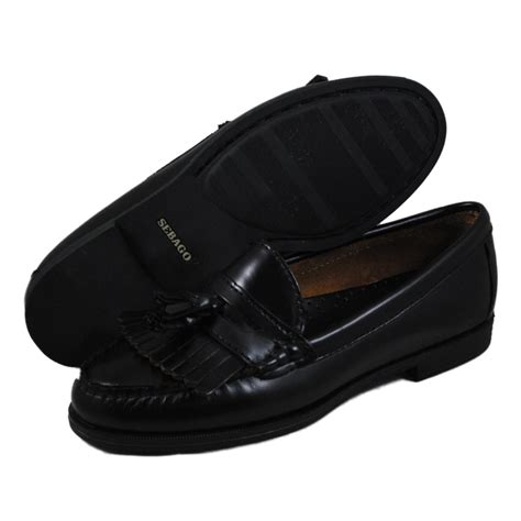 womens black loafers sebago womens black loafers shoes ebay
