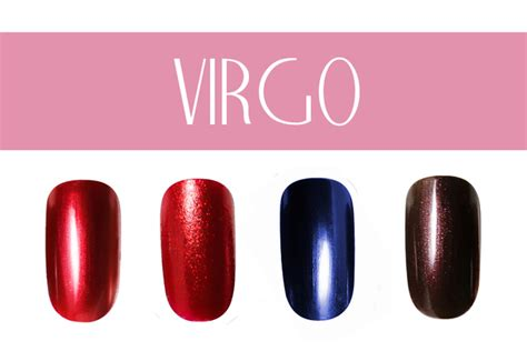 virgo colors pictures nail color by zodiac sign virgo nail colors