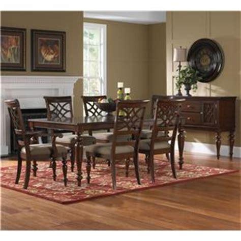 standard furniture woodmont 7 rectangular dining