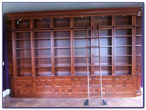 bookcase ladder hardware ikea bookshelf with rolling ladder bookcase home