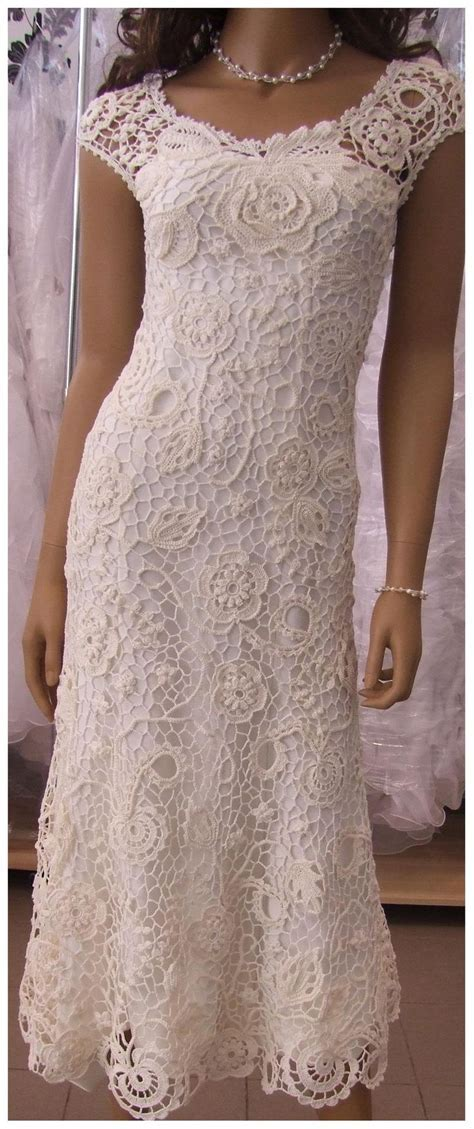 Best 25  Crochet wedding dress pattern ideas on Pinterest