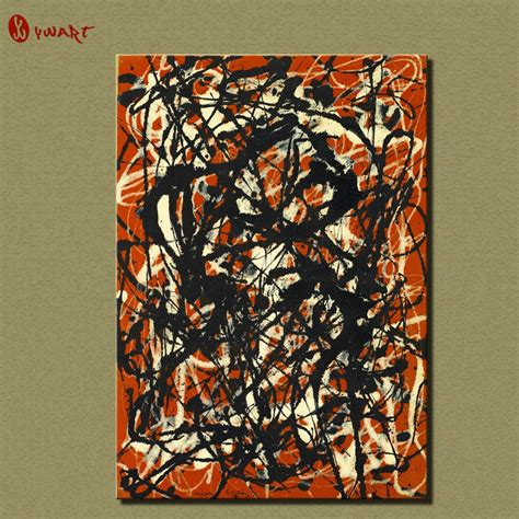 Home Decoration Products Online jackson pollock paintings reviews online shopping