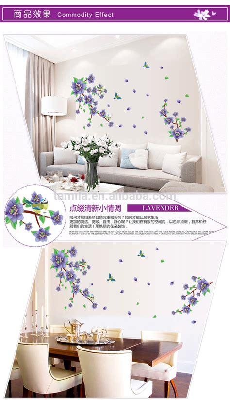 Wallsticker Purple Flower by Jual Purple Flower Tree Wall Sticker Transparant Azka