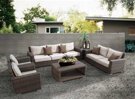 coronado patio furniture the outback living coronado wicker set