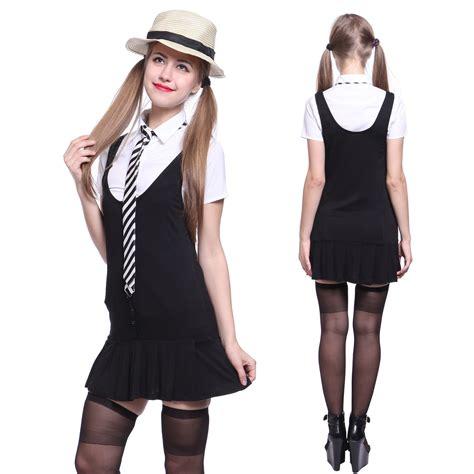 St Overal st trinians school overall skirt hen