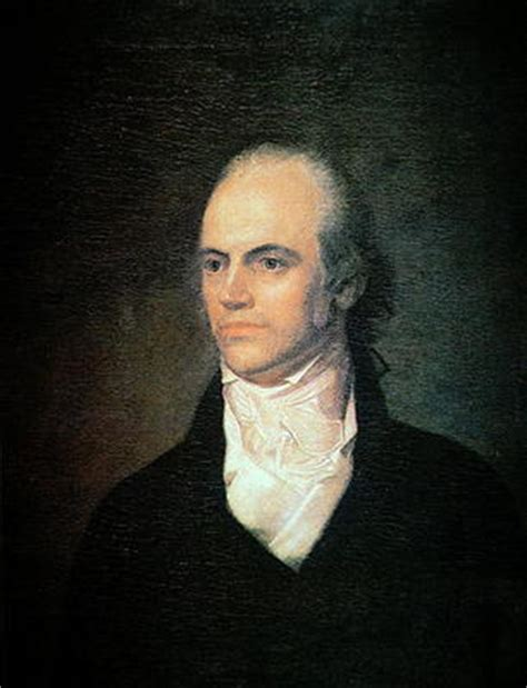 aaron burr aaron burr 1756 1836 vice president of john vanderlyn