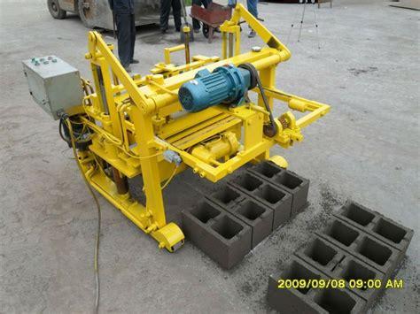 decorative blocks machine manual hydraulic moving egg laying concrete block machine