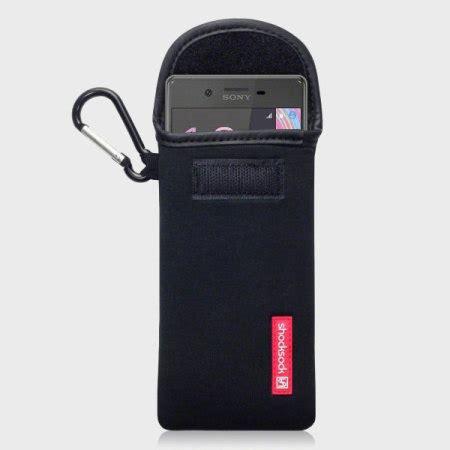 Sony Neoprene shocksock sony xperia x neoprene carry black