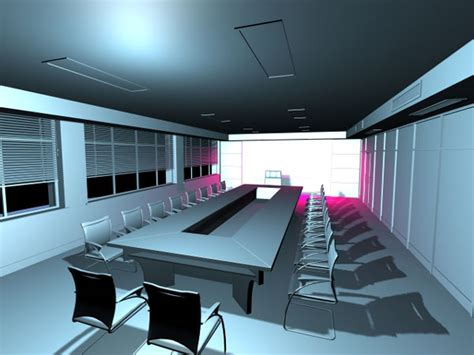 Free Meeting Rooms by Meeting Room Office Visualization Max 3ds Max Software Architecture Objects