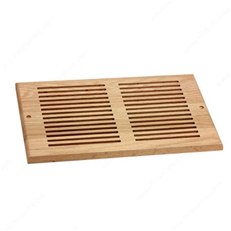 decorative wall register wall air vent wood rw81425 richelieu hardware