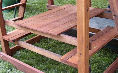 swing set additions swing set additions redwood picnic table traditional