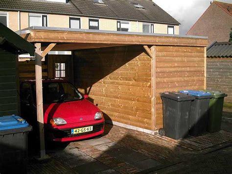 carport 5x3m anno s houtbouw assen bouwt houten schuren en garages in