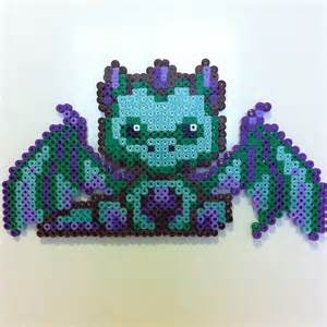 dragon perler beads by kelsey wall melty beads pinterest