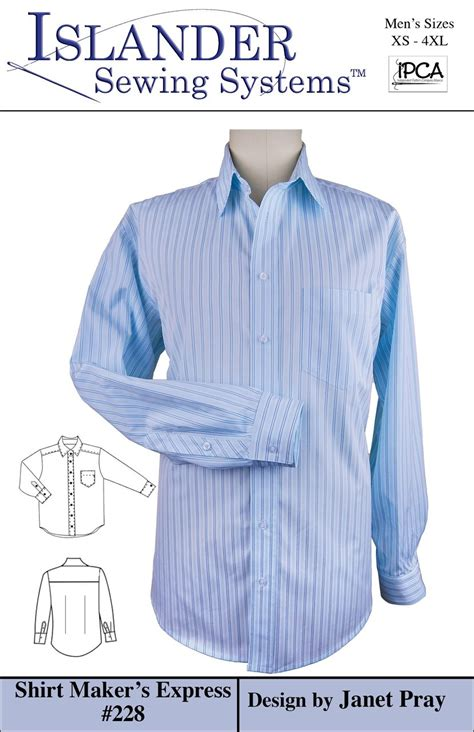 shirt pattern generator men s shirt maker s express islander sewing