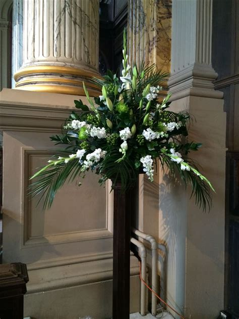 Church Wedding Flower Arrangements by 390 Best Images About Church Flowers On Altar