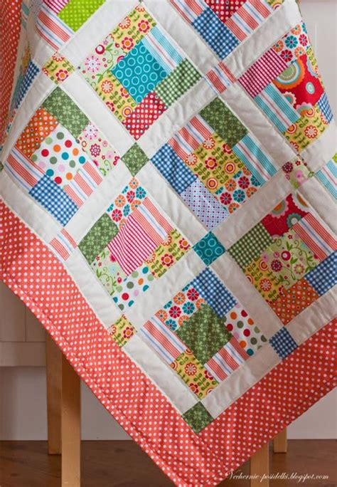 Quilt Sashing With Cornerstones by This Quilts