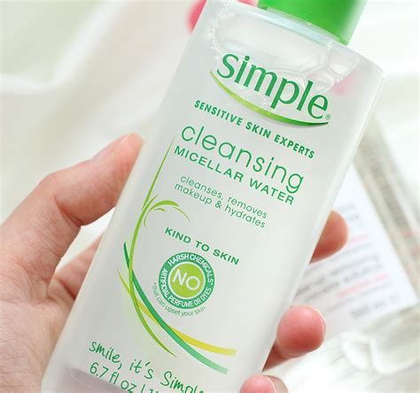 Simple Detox Cleanse by This Or That Bioderma V Simple Cleansing Water