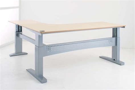 Corner Standing Desk Conset 501 11 Standing Desk Corner Style Desk Uk