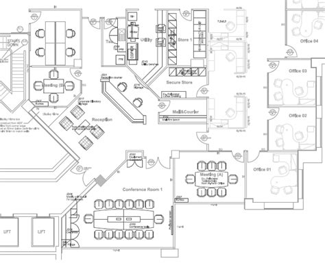 layout of back office big office layout with over 30 table home office design