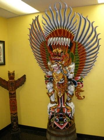 laser tattoo di jakarta we shipped this garuda statue home from indonesia at over