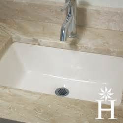 highpoint collection 19 x 11 inch undermount bisque vanity