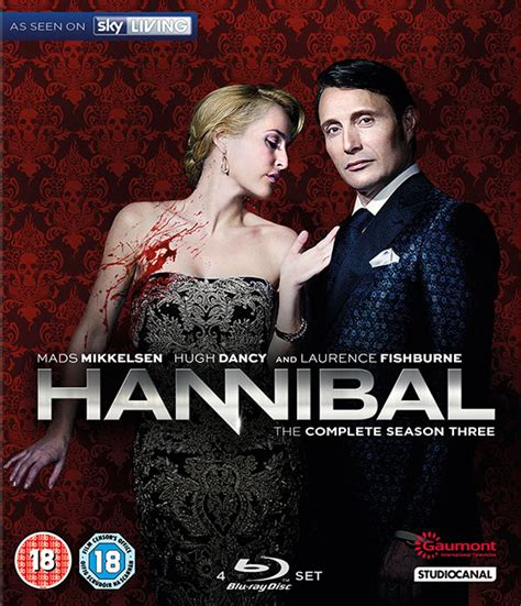 Hannibal The Complete Series Bluray nerdly 187 competition win hannibal the complete season 3