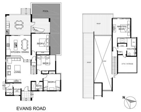 beach houses floor plans queensland resort facilities bramston beach house