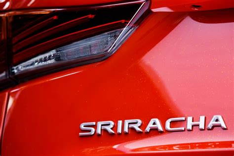 lexus sriracha edition lexus just made a sriracha car and no this isn t an april