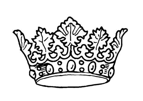 coloring page crown crown coloring pages az coloring pages
