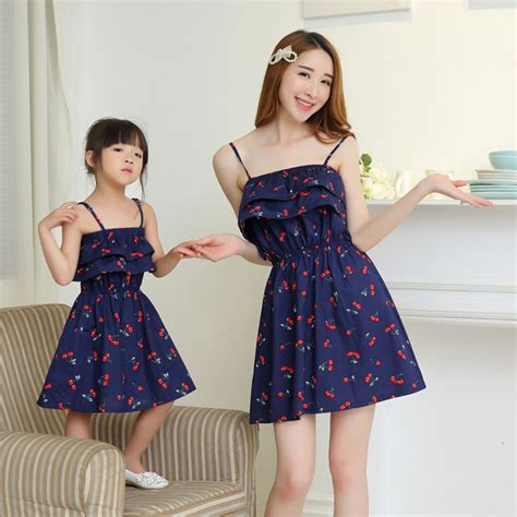 mother and daughter matching dress 2017 summer mother daughter dresses matching mother