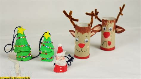 Basteln Weihnachten Mit Kindern by Recycling Basteln Weihnachten Nikolaus X 4