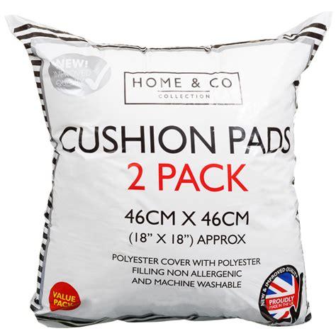 Cushion Size Home Co Cushion Pads 2pk Bedding B M