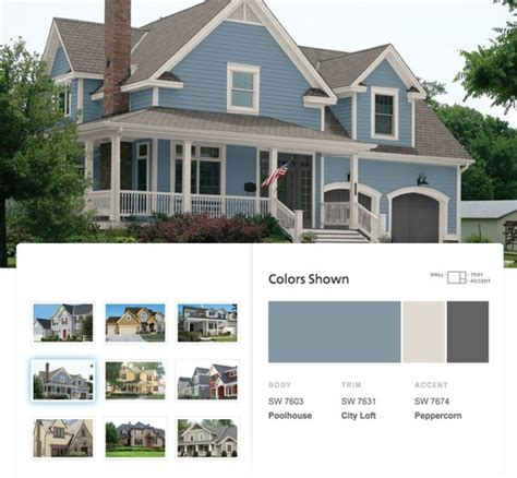 7 best images about exterior on paint colors cottages and blue