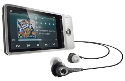 mp4 player android philips gogear connect android 2 3 gingerbread mp4 player coming as ipod touch killer tech prezz