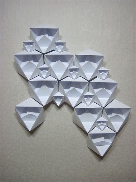 Origami Sculptures - untitled origami sculpture 2011