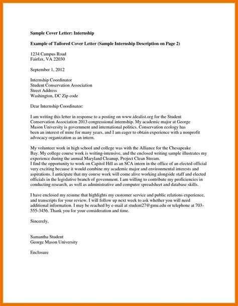 college application cover letter exles sle admission motivation letter