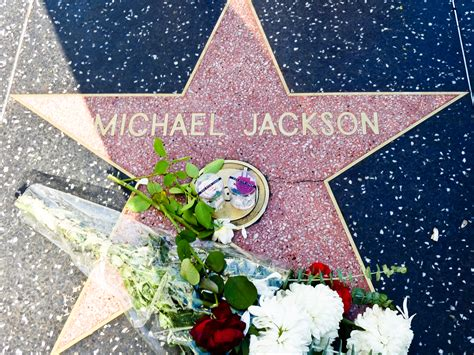 Hollywood Walk of Fame - Road in Los Angeles - Thousand ... Hollywood Walk Of Fame Stars Michael Jackson