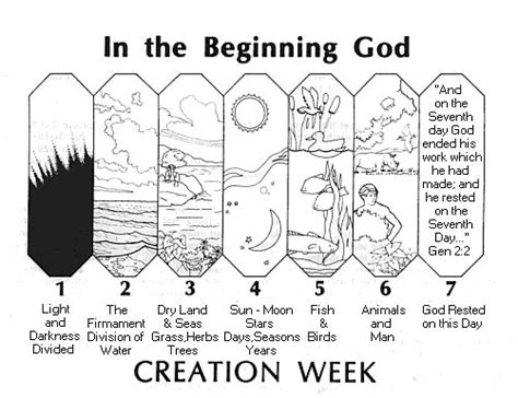 preschool coloring pages of creation creation mystery of history volume 1 lesson 1 mohi1