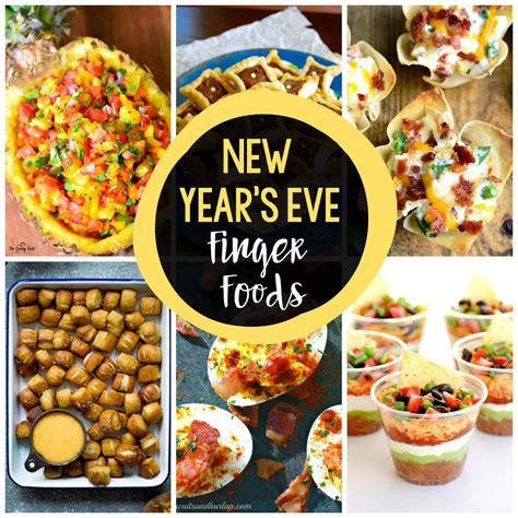 25 new year s eve finger foods crazy little projects