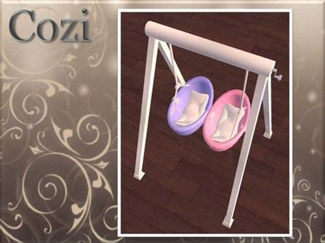 hand crank baby swing second life marketplace cozi twins baby swing girl