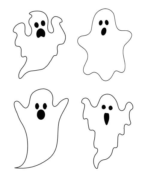 printable ghost shapes decora 231 227 o para festas halloween parte 1 d 250 vidas de