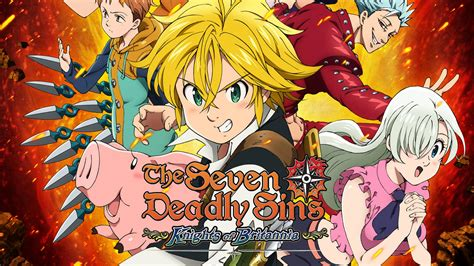 the seven deadly the seven deadly sins knights of britannia angek 252 ndigt