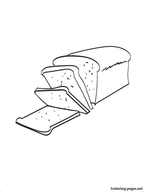 loaf coloring page coloring pages