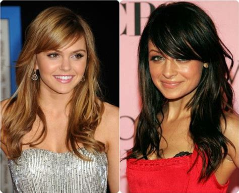 round hair extention 8 best and glamorous hairstyles for round face side
