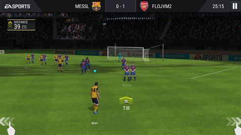 mobile football fifa mobile football android 18 20 test photos vid 233 o