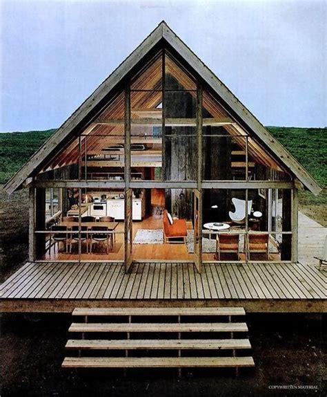 a frame cabin prefab the legendary jens risom shows his prefab